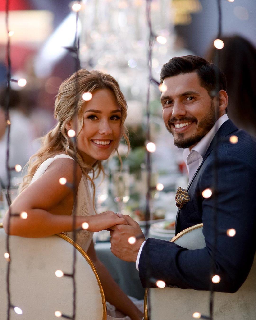 Никита Добрынин и Даша Квиткова свадьба