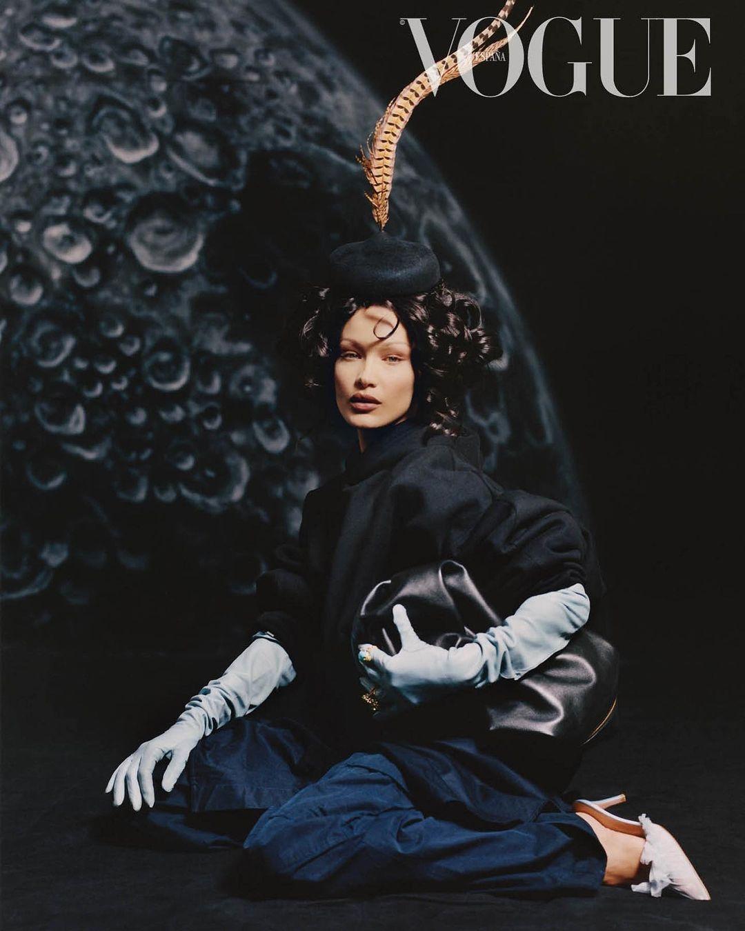 Белла Хадид снялась для испанского Vogue в образе Марии Антуанетты (ФОТО) - фото №2