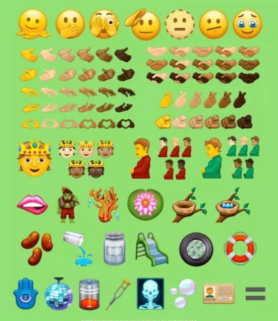 Unicode новые эмоджи