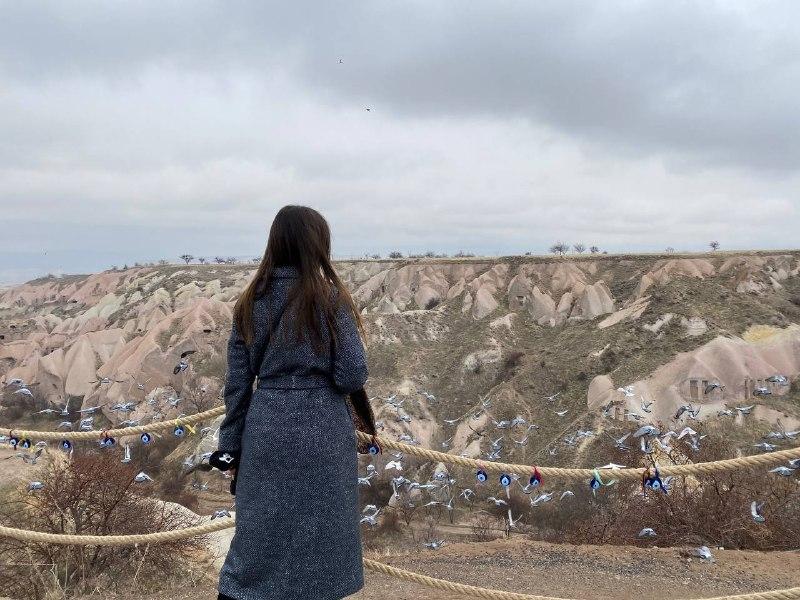 долина голубятен в Каппадокии