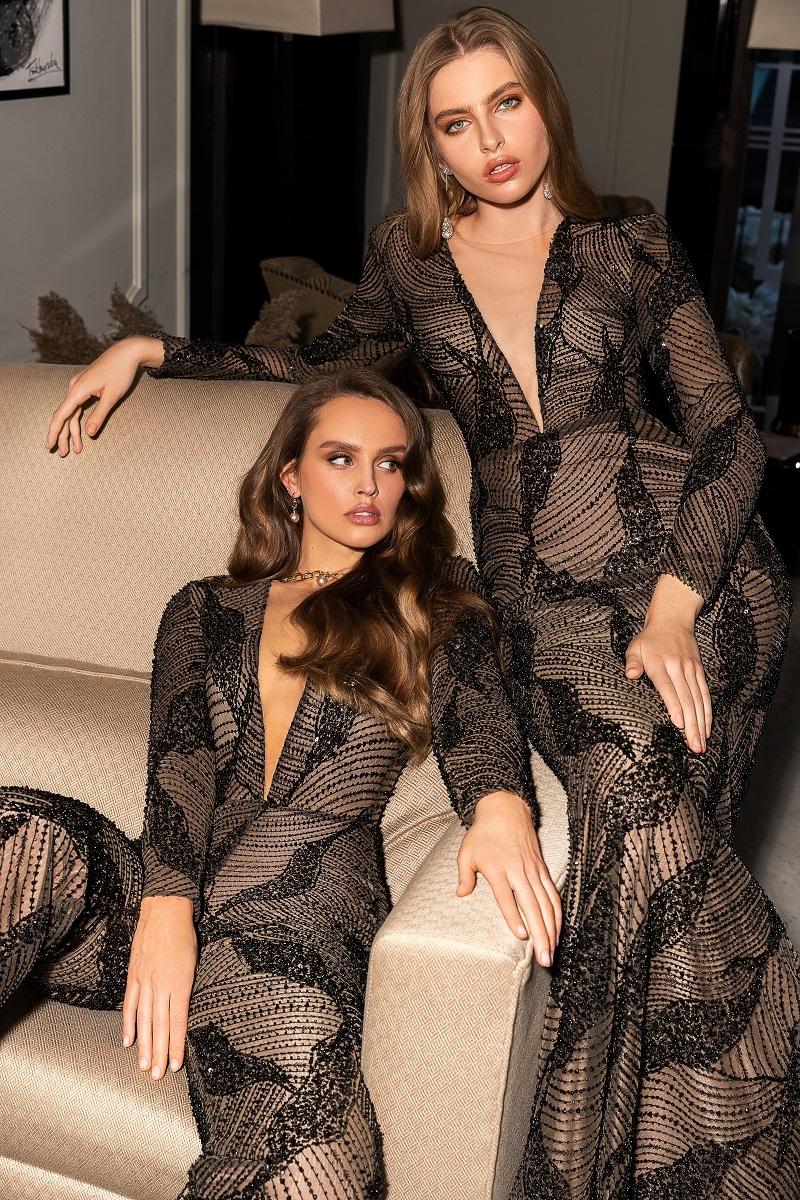 Стразы, шелк и кружева: бренд WONA Concept представил новую коллекцию вечерних платьев (ФОТО) - фото №1
