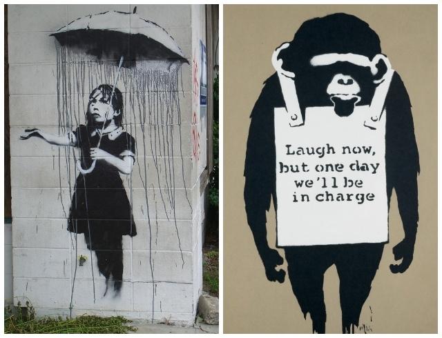 Уличного художника Бэнкси лишили авторских прав из-за нежелания раскрыть свою личность - фото №2
