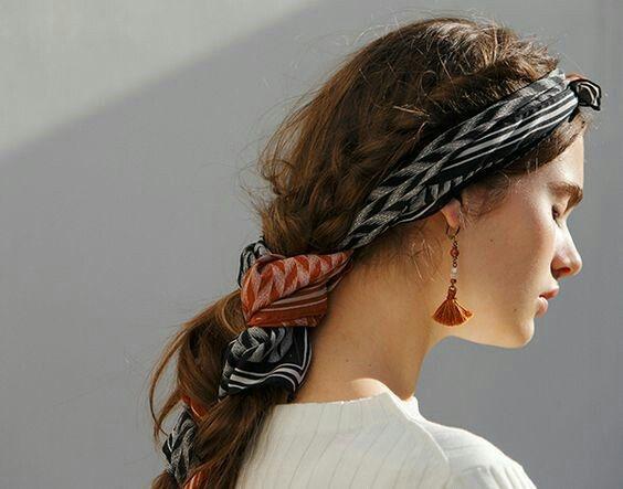 Как носить бандану на голове: ТОП-5 модных идей - фото №11