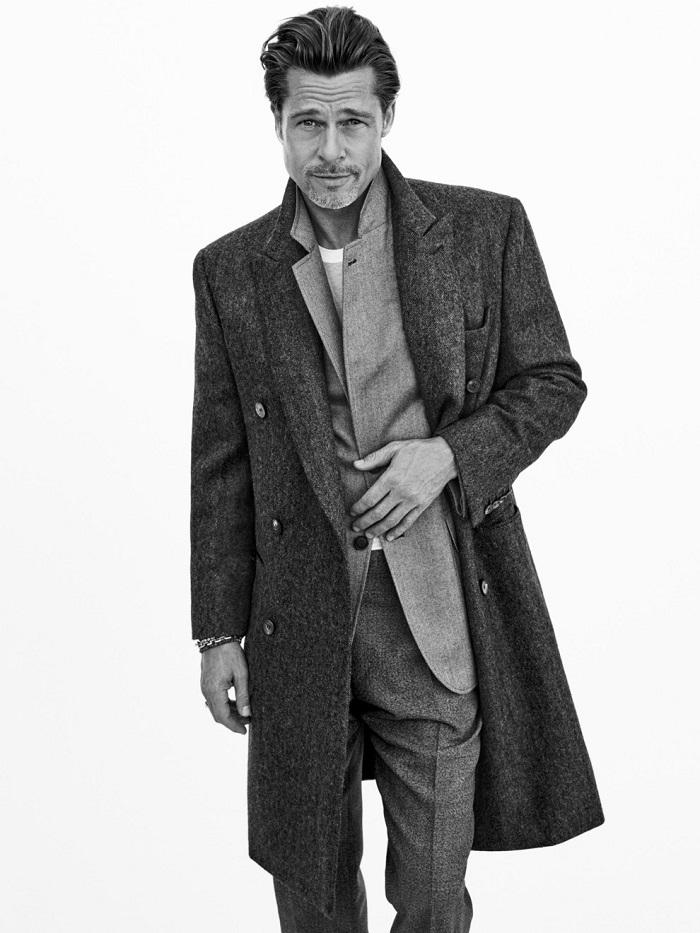 Идеальный мужчина: Брэд Питт снялся в новой рекламной кампании Brioni (ФОТО) - фото №4