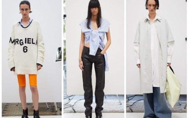 Асимметричные рубашки, удлиненные свитера и широкие брюки: обзор новой