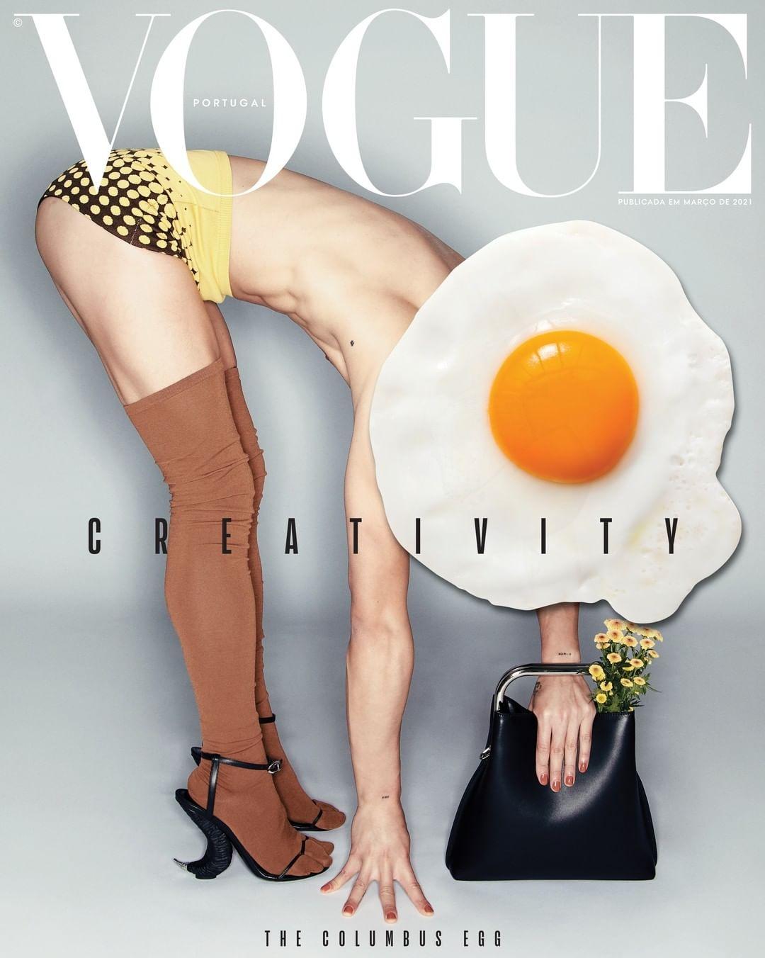 Новую обложку Vogue украсили яйца (ФОТО) - фото №2