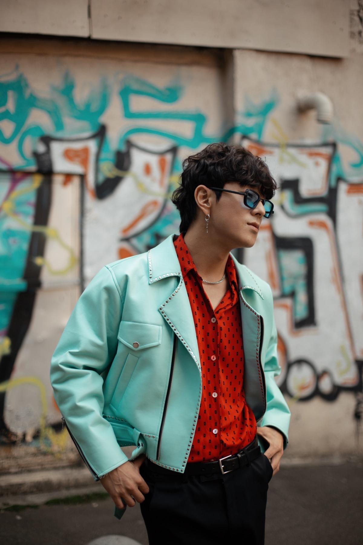 Корейський співак Song wonsub в новій фотосесії приміряв образи від українських дизайнерів - фото №4