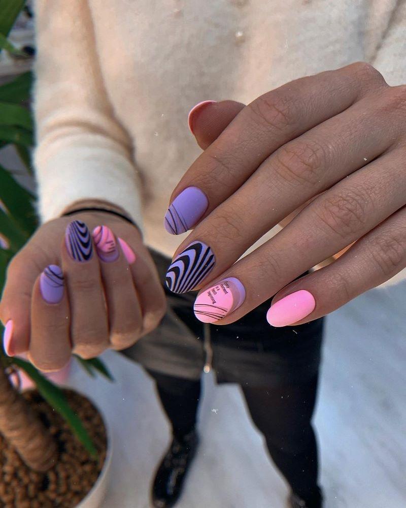 Стильный маникюр: ТОП-20 дизайнов ногтей на лето - фото №13