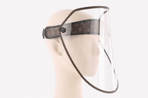 Защита от дождя, солнца и коронавируса: Louis Vuitton выпустили стильные щиты для лица (ФОТО) - фото №3