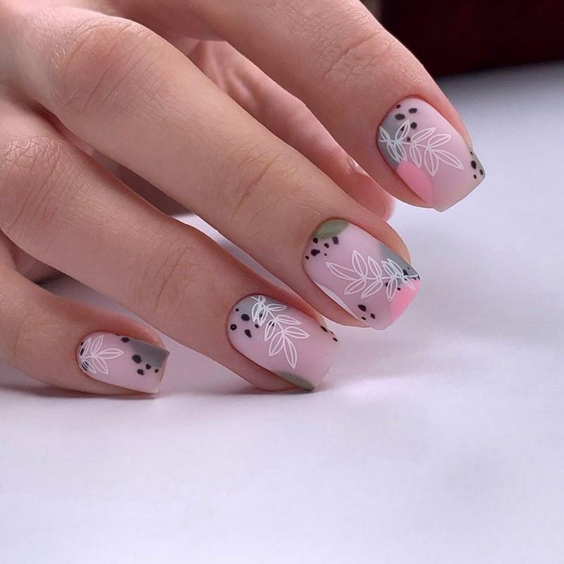Стильный маникюр: ТОП-20 дизайнов ногтей на лето - фото №19