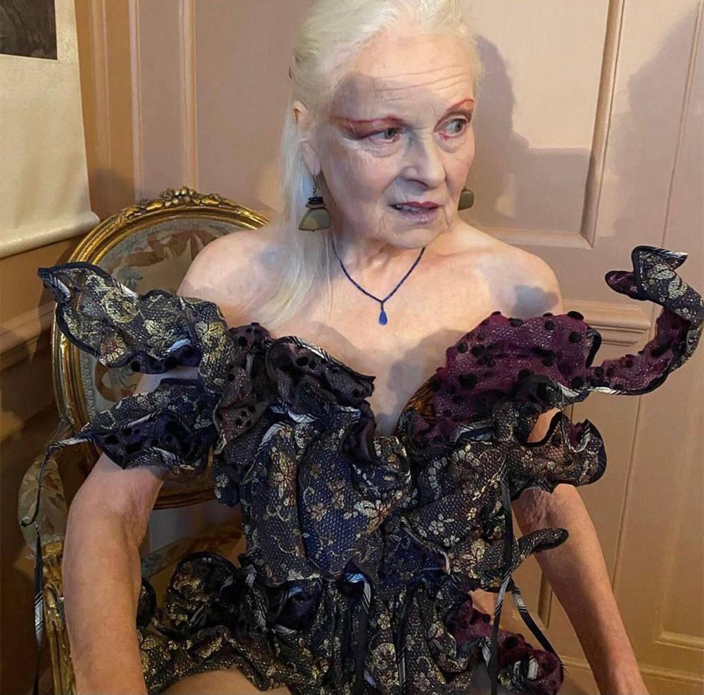 79-летняя Вивьен Вествуд обнажилась в новой фотосессии, чтобы привлечь внимание к теме изменения климата (ФОТО) - фото №3