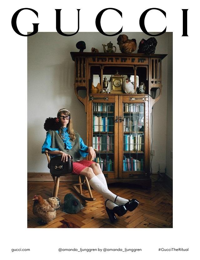 Fashion-прогресс: Gucci сняли кампанию без фотографов, визажистов и стилистов - фото №2