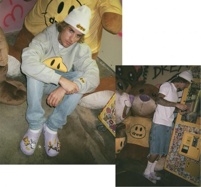 Вещь дня: Джастин Бибер выпустил лавандовые кроксы с мишками (ФОТО) - фото №1