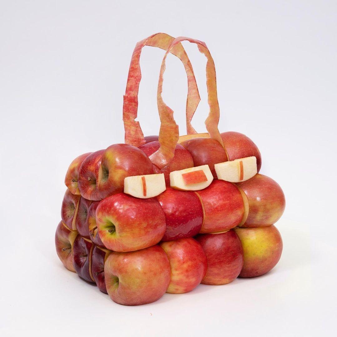 Hermès показали коллекцию съедобных сумок Birkin из овощей (ФОТО) - фото №6