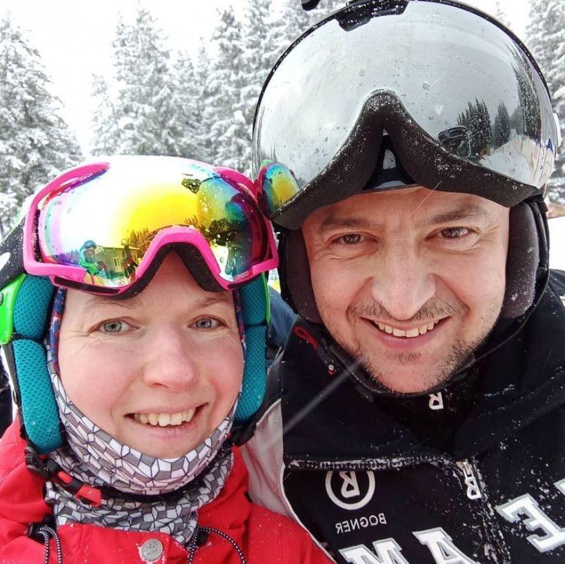 Все ближе к народу: Владимир Зеленский отдыхает на горнолыжном курорте в Буковеле - фото №1