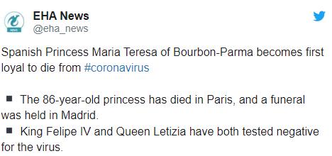Испанская принцесса Мария Тереза умерла от коронавируса - фото №2