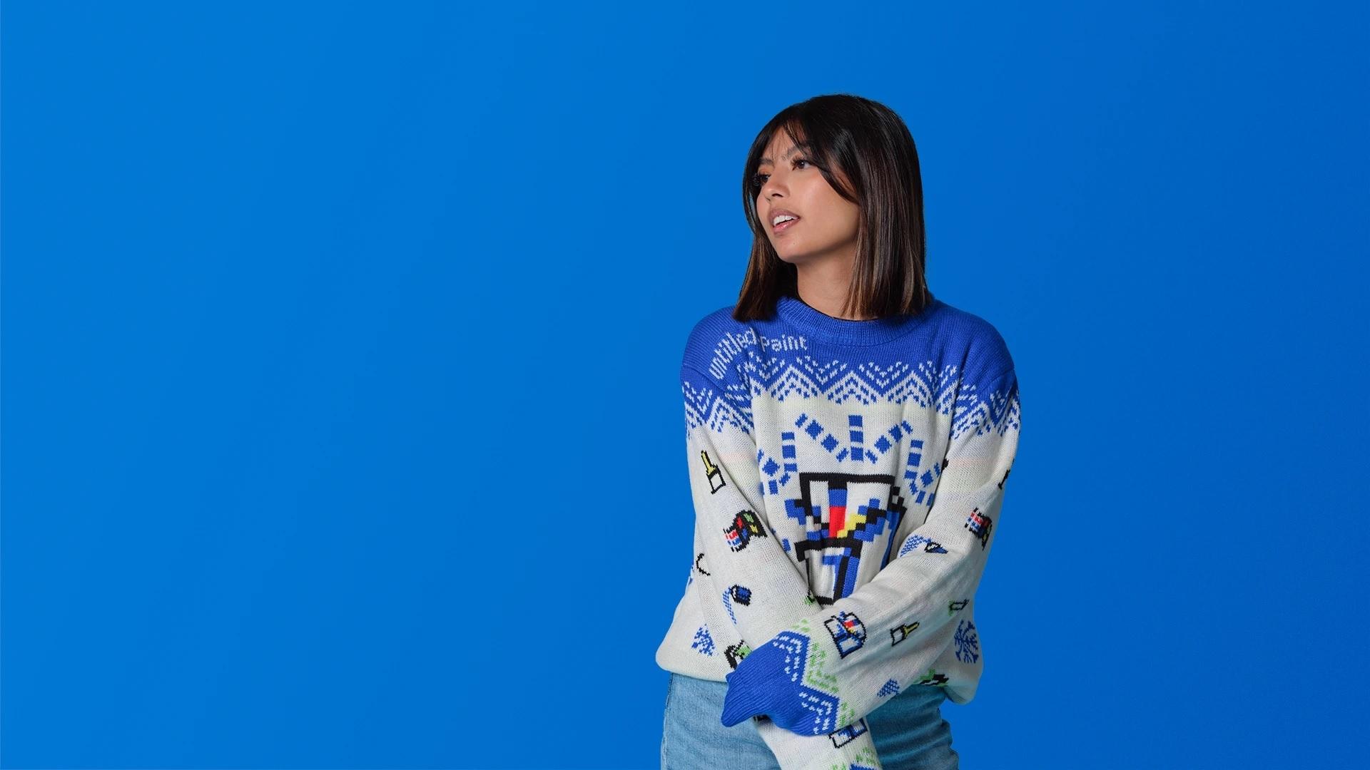 """Вещь дня: Microsoft выпустили коллекцию """"уродливых"""" свитеров (ФОТО) - фото №1"""