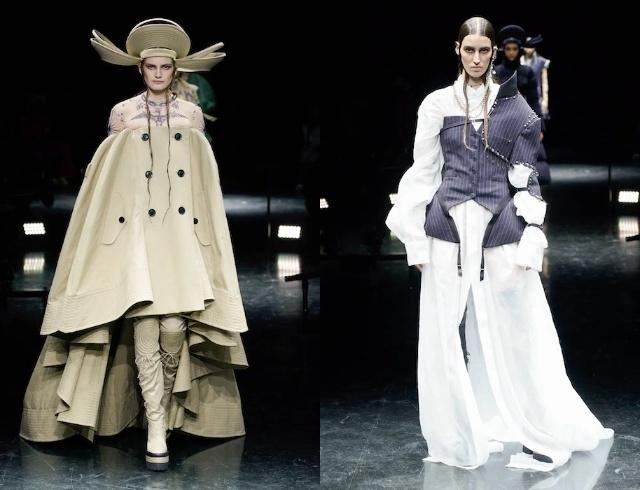 Неделя высокой моды в Париже: рассматриваем коллекции Armani, Jean Paul Gaultier и дургих диазйеров - фото №5