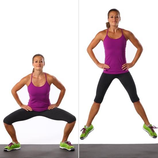 Упражнение для тонуса всех мышц ног