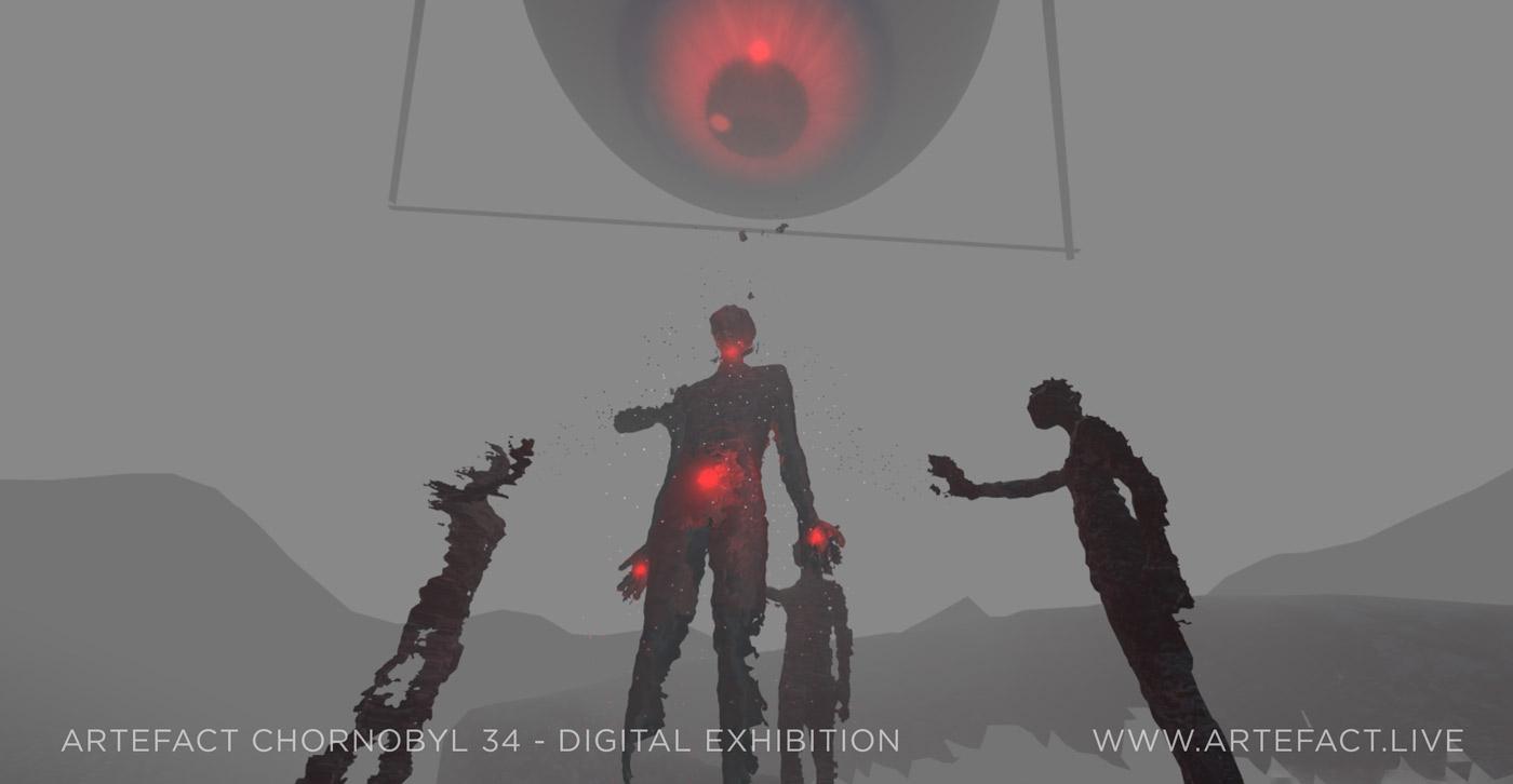 До Дня ліквідатора: роботи Івана Марчука, Марії Примаченко, Арсена Савадова та ще 50 художників у віртуальній виставці Чорнобиля - фото №2