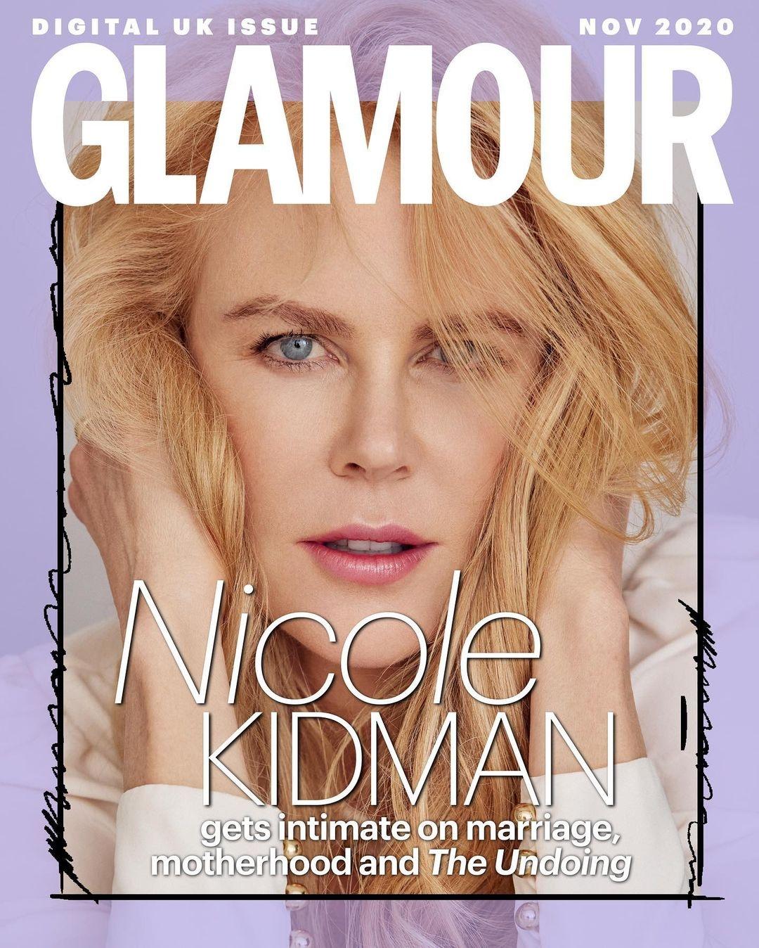 Николь Кидман украсила обложку Glamour и рассказала о комплексах в подростковом возрасте (ФОТО) - фото №1