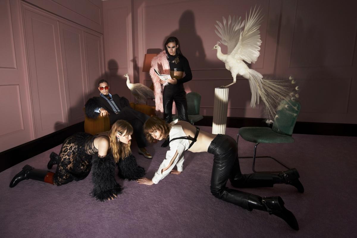 Группа Måneskin снялась в рекламе новой коллекции Gucci (ФОТО) - фото №1