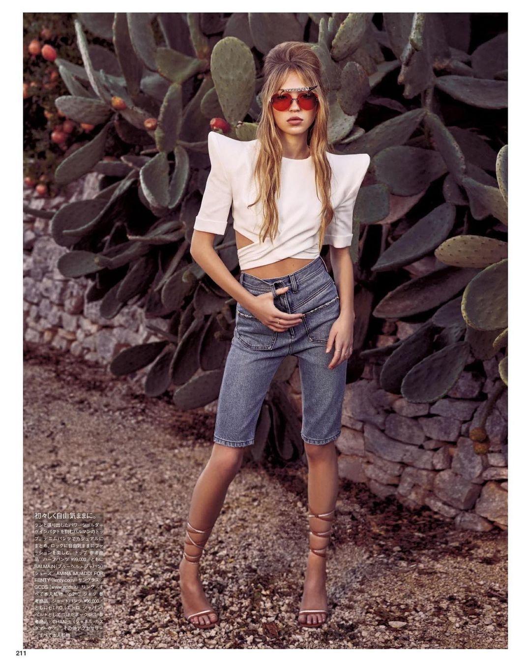 Поразительное сходство: дочь Кейт Мосс снялась для обложки японского Vogue (ФОТО) - фото №3