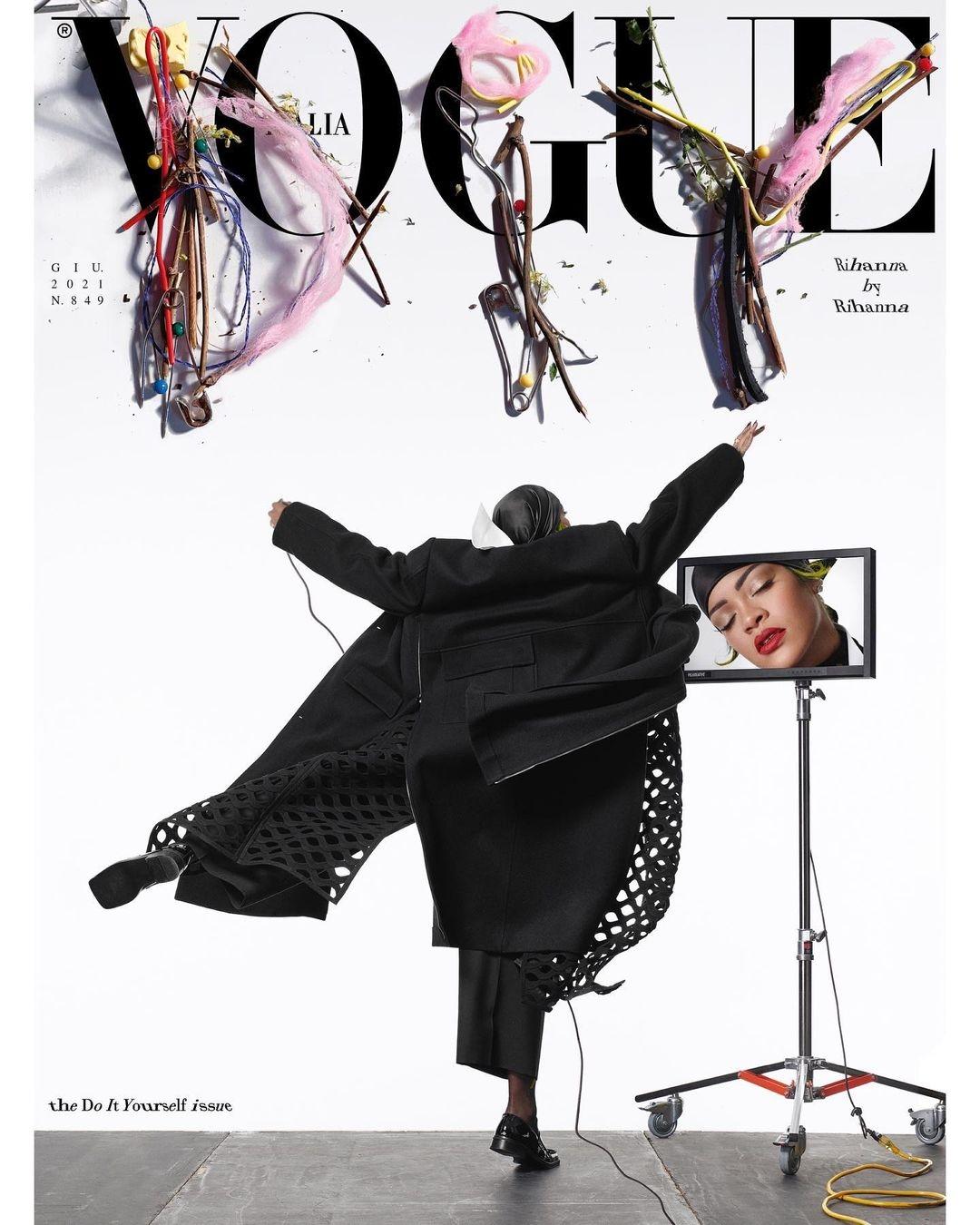 Рианна украсила обложку нового номера Vogue (ФОТО) - фото №3