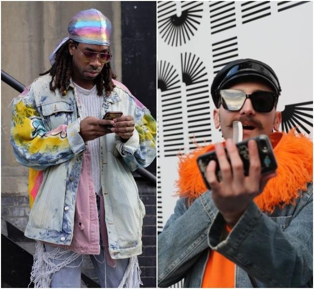 Мужская неделя моды в Лондоне: лучшие стритстайл-образы (ФОТО) - фото №24