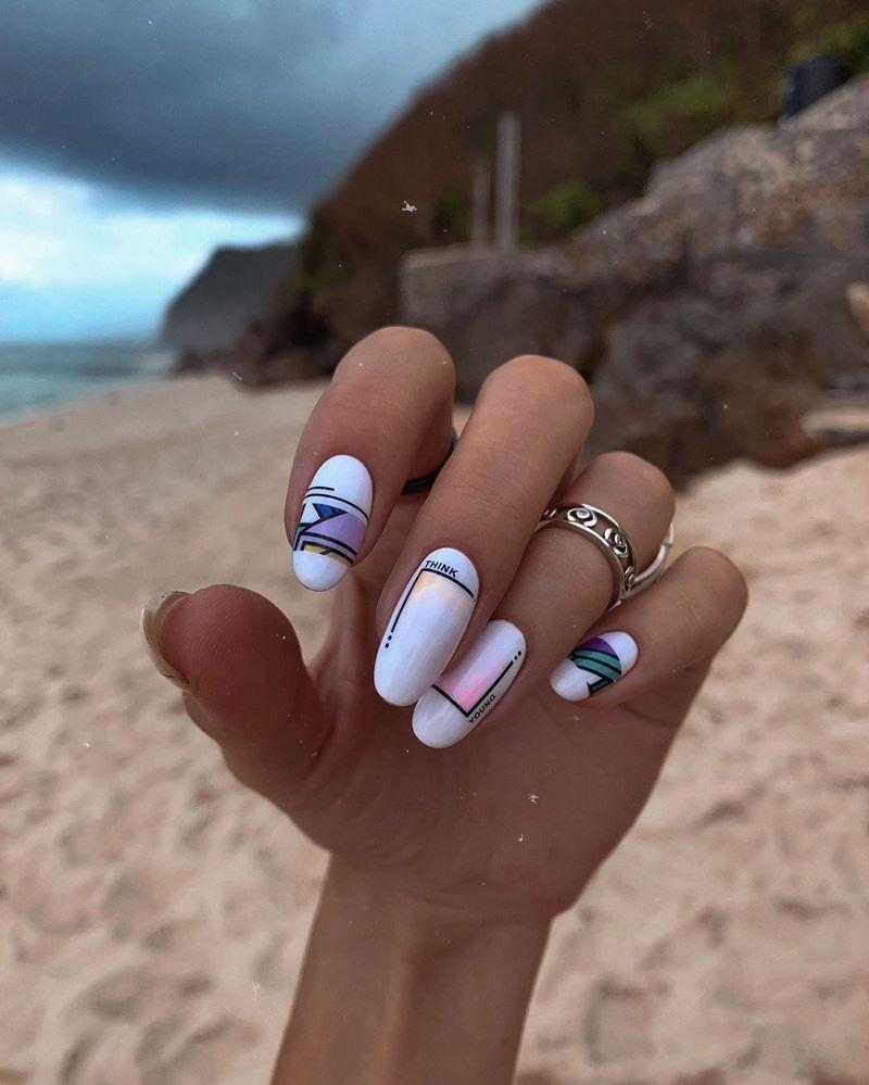 Стильный маникюр: ТОП-20 дизайнов ногтей на лето - фото №14