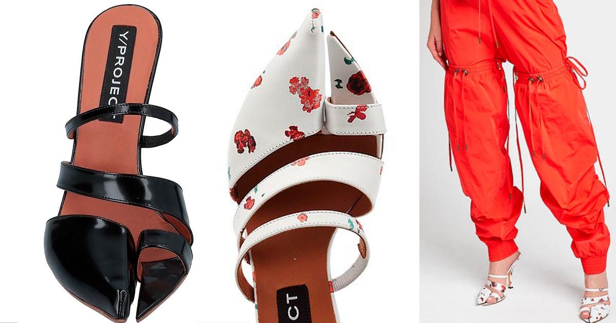 Еще один тренд, который вас удивит: обувь с открытым большим пальцем - фото №3