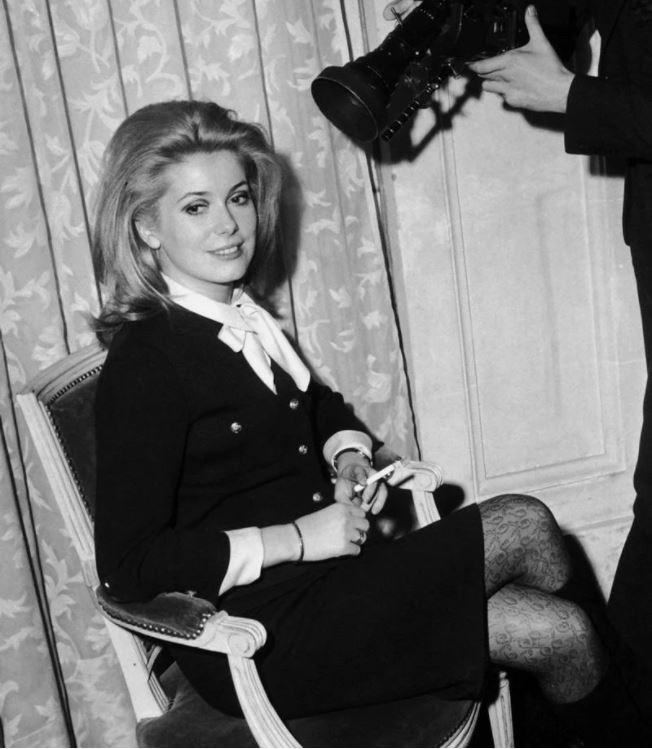 Уроки стиля французской кинодивы Катрин Денев - фото №7