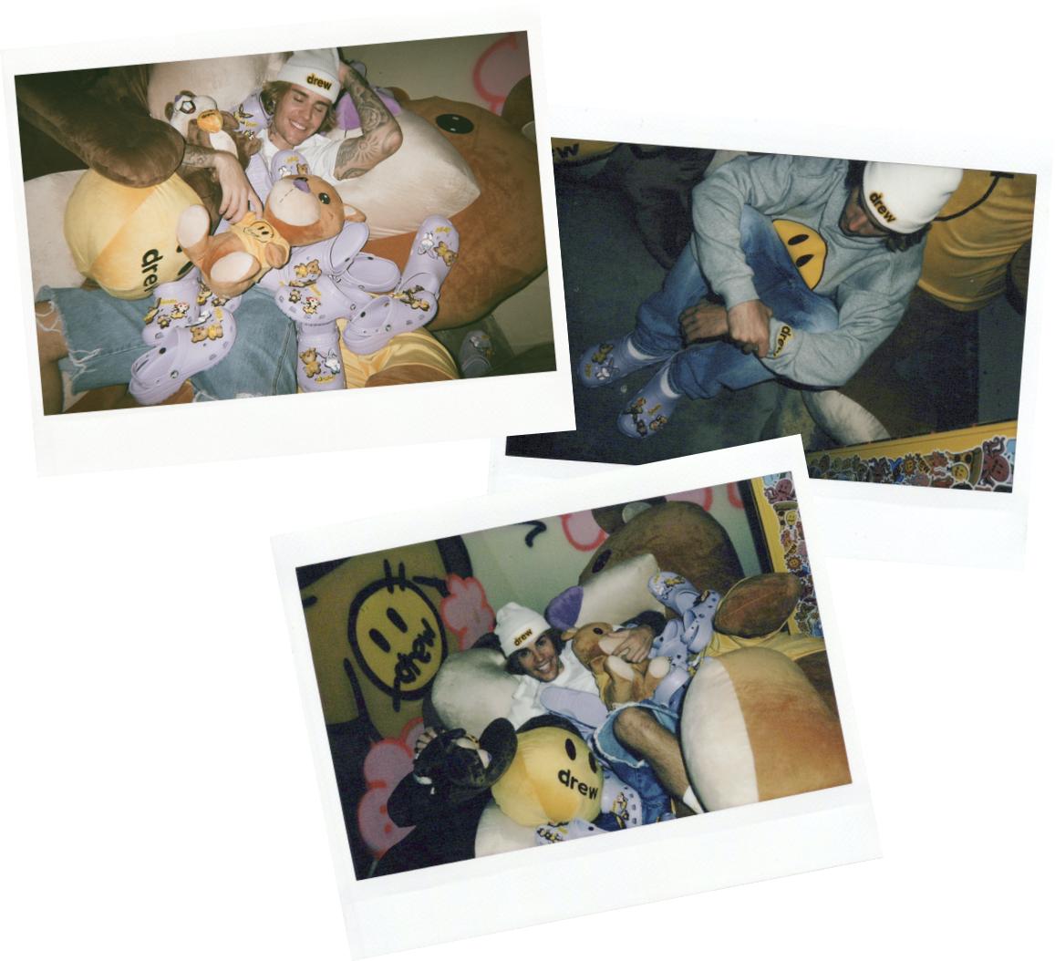 Вещь дня: Джастин Бибер выпустил лавандовые кроксы с мишками (ФОТО) - фото №3
