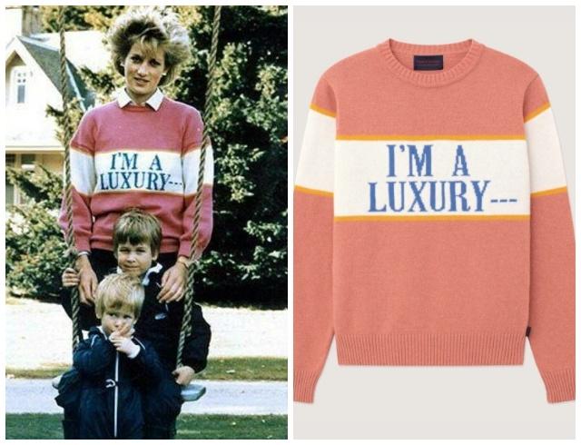 Must-have осени 2020: Rowing Blazers выпустили два любимых свитера принцессы Дианы (ФОТО) - фото №2