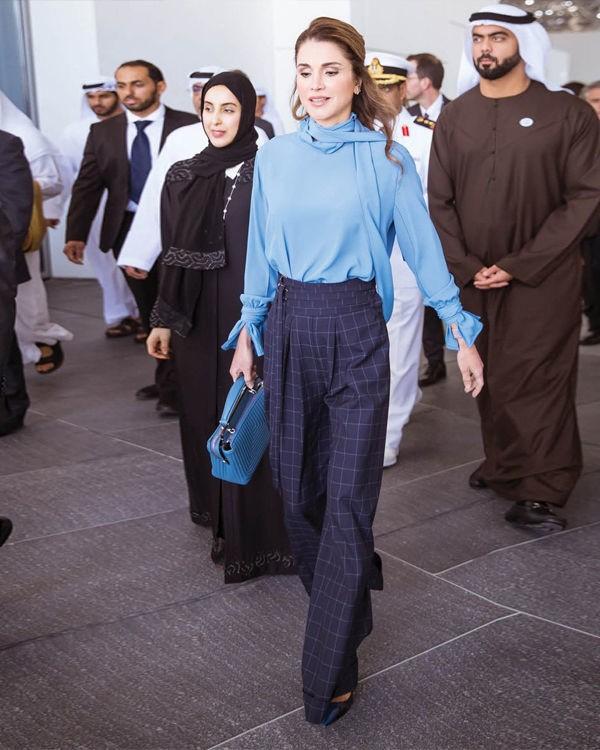Уроки стиля: королева Иордании, которая не носит хиджаб - фото №6