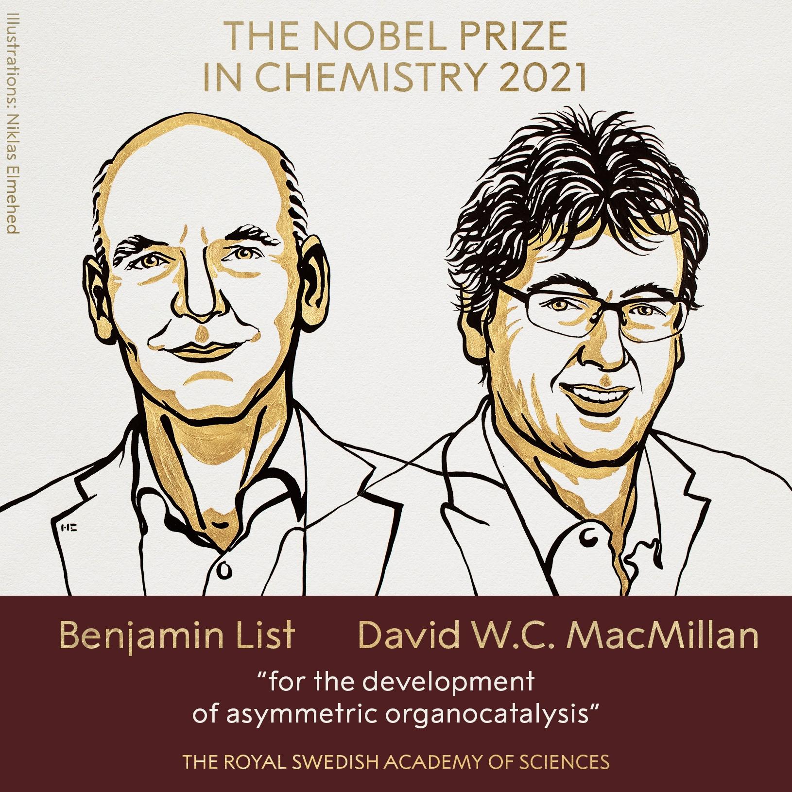 Названы лауреаты Нобелевской премии по химии - фото №1