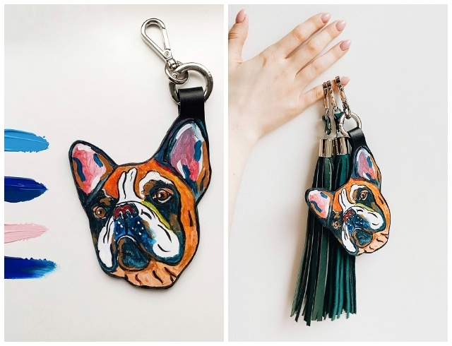 Друг, который всегда с тобой: брелки с росписью от бренда Ozerianko bags (ФОТО) - фото №2