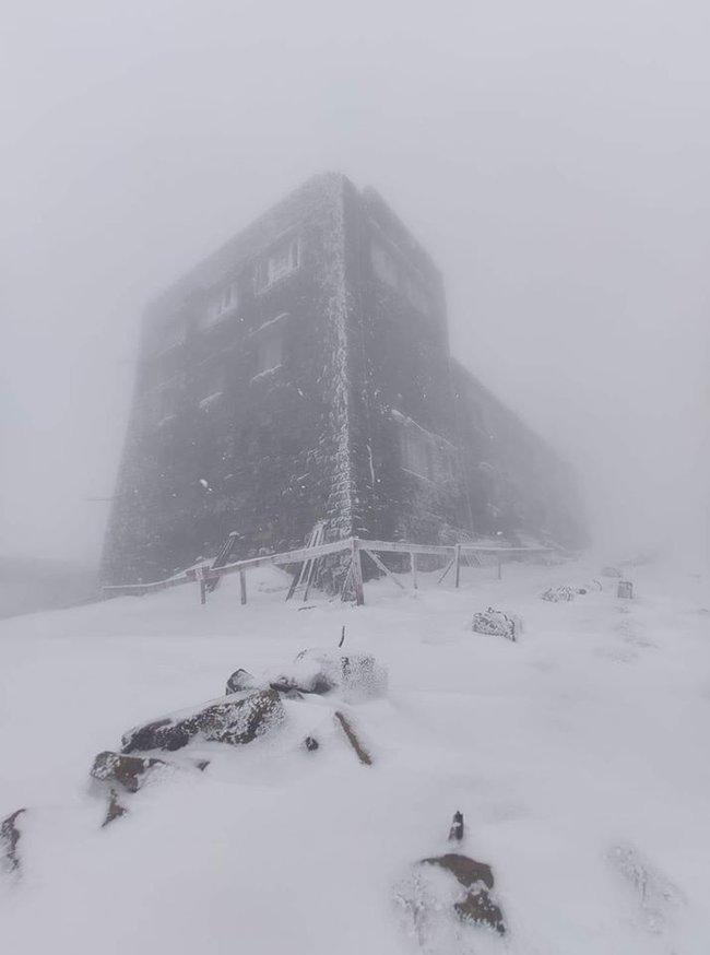 В Карпатах началась зима! Там уже выпало полметра снега (ФОТО) - фото №1