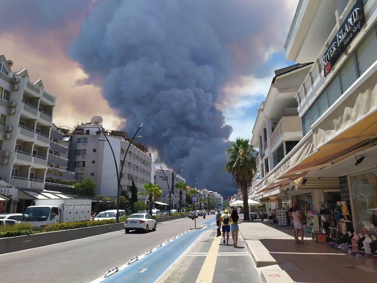 В Турции бушуют лесные пожары: погибло три человека (ФОТО) - фото №2
