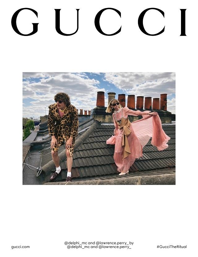 Fashion-прогресс: Gucci сняли кампанию без фотографов, визажистов и стилистов - фото №4