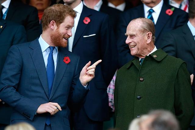 Принц Гарри выразил официальное сожаление о смерти принца Филиппа - фото №1