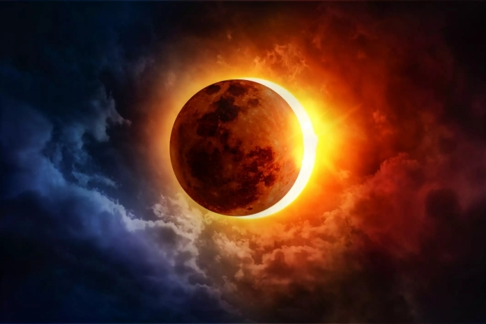 солнечное затмение в 2021