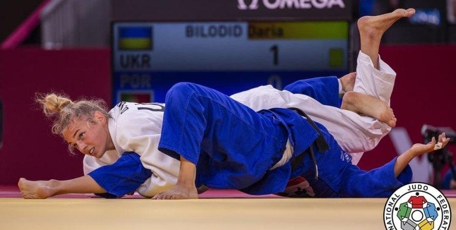 Дзюдоистка Дарья Белодед принесла Украине первую медаль Олимпиады в Токио - фото №1