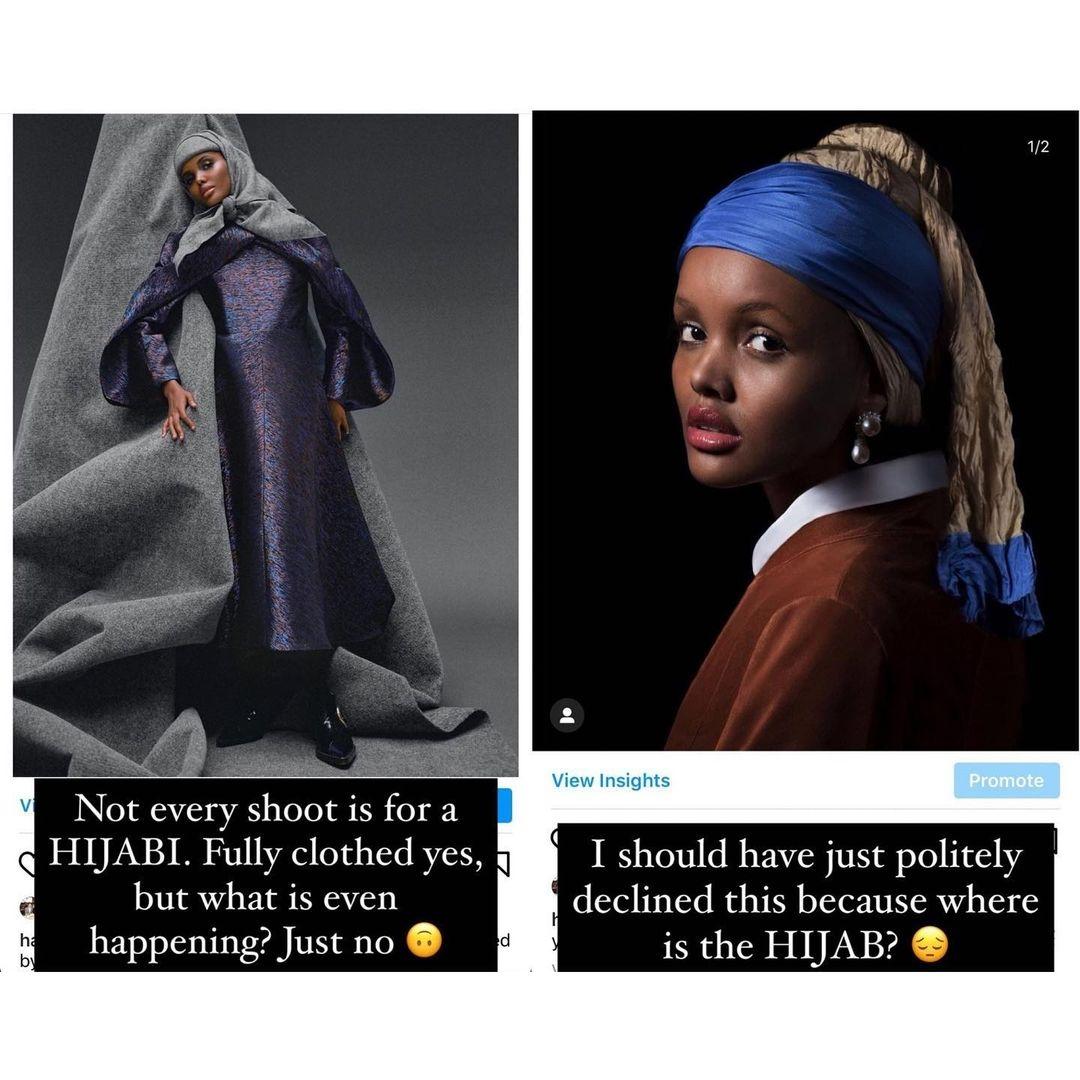 Мусульманская модель Халима Аден завершает карьеру из-за религиозных убеждений - фото №2