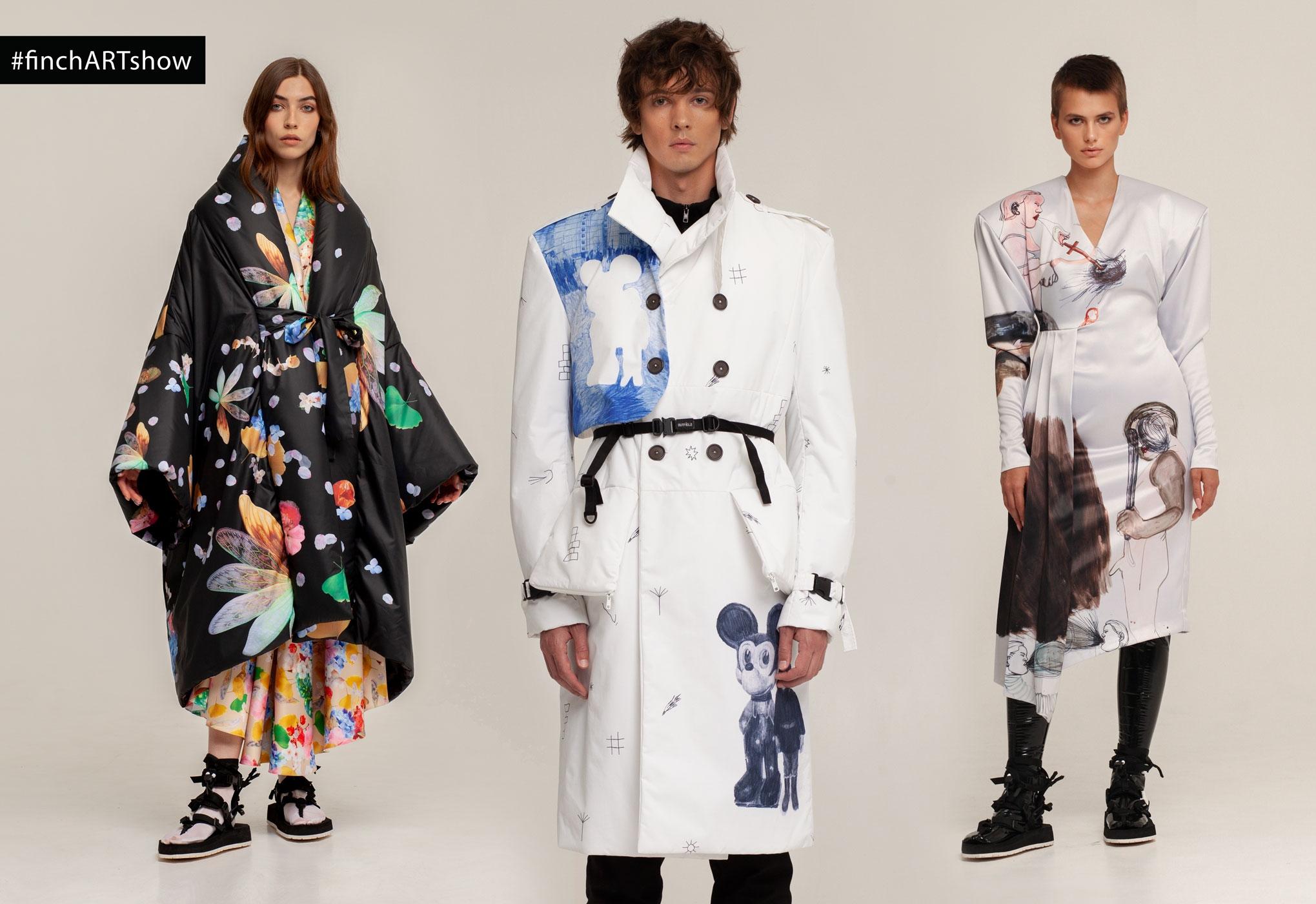 Искусство на одежде и много костюмов: чем запомнился третий день Ukrainian Fashion Week noseason sept 2021 - фото №9