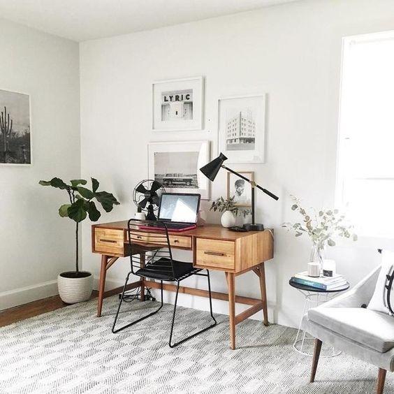 как сделать офис дома