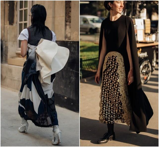 Стритстайл на Неделе высокой моды в Париже: как носить кутюр каждый день - фото №14