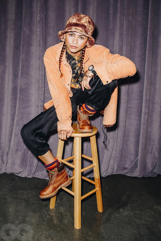 """""""Люди считали меня надменной"""": звезда """"Эйфории"""" Зендая снялась для обложки GQ и рассказала о своих трудностях (ФОТО) - фото №2"""