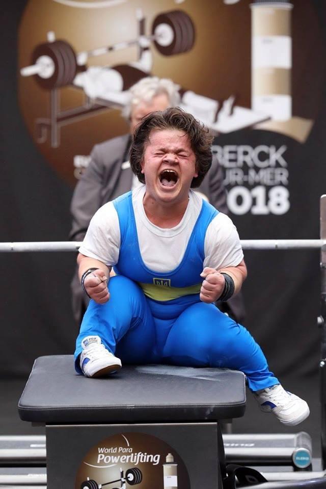 Пауэрлифтерша Марьяна Шевчук принесла Украине второе золото на Паралимпийских играх - фото №1