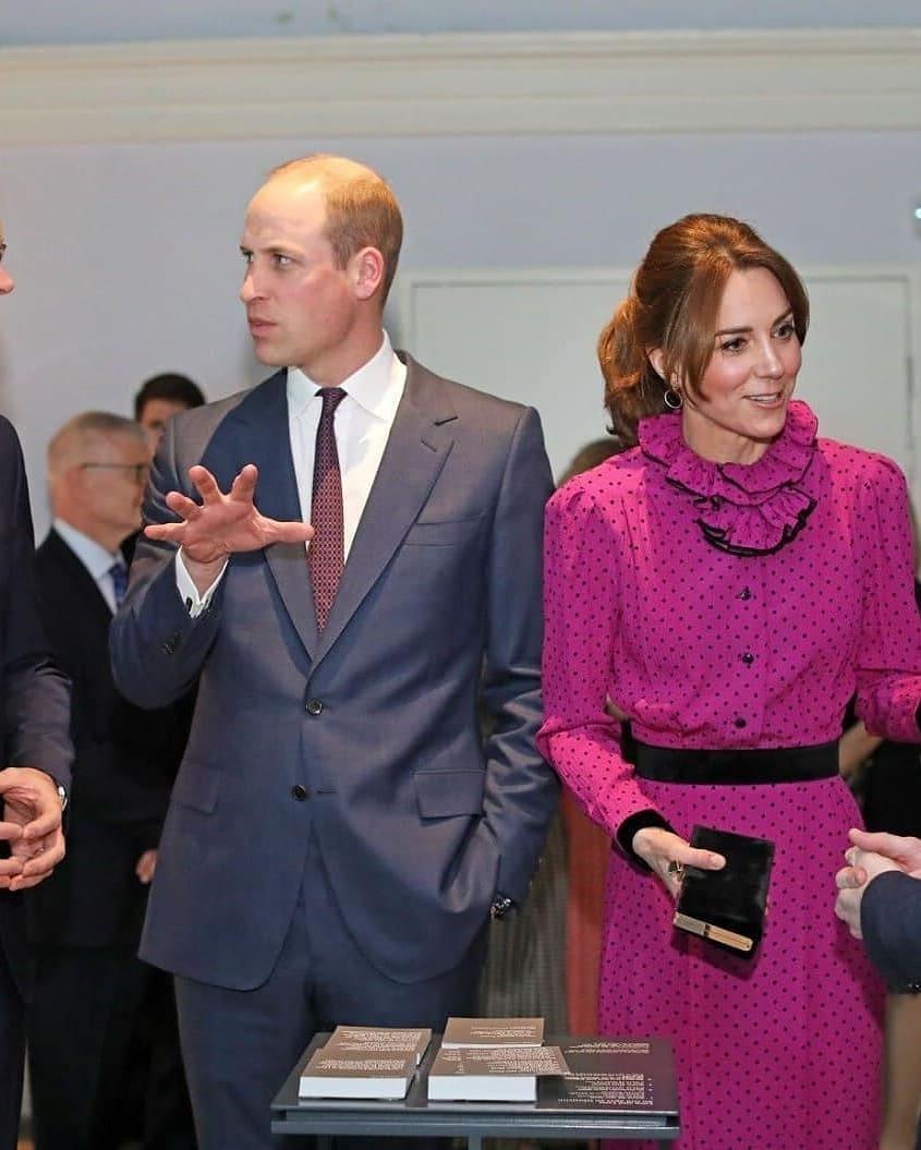 кейт миддлтон в платье оскар де ла рента